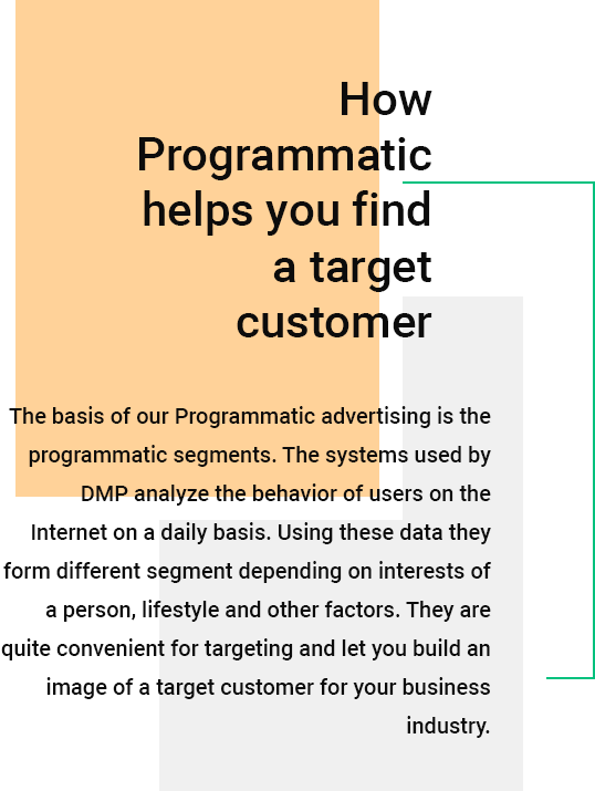 How Programmatic helps you find a target customer